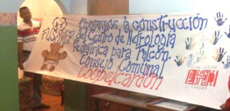 EQUIPO DE SISTEMATIZACIÓN ABRIENDO CAMINOS Y ACTIVADORES  APOYAN LA  CONTRUCCION DE CENTRO DE NEFROLOGIA  PEDIATRICA.